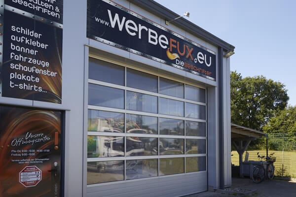 Werbetechnik in Trittau bei Hamburg